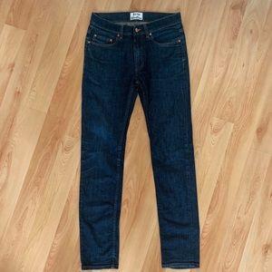 Acne Studios Ace Comfort Rw Denim Jeans